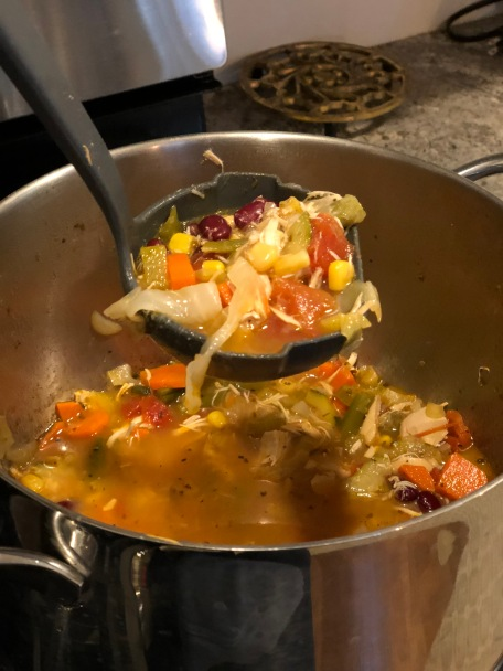 GO MAKE THIS NOW. CHICKEN MINESTRONE (LOW-CARB).